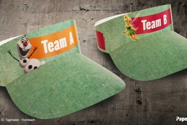 PaperCap® - Team Spirit für Erwachsene und Kinder